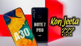 Điểm nóng công nghệ: Nên mua Xiaomi Redmi Note 7 Pro hay Galaxy A30?