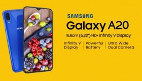 Sạc nhanh chỉ sau 10 phút, Samsung Galaxy A20 có gì Hot?