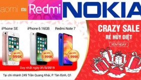 Đăng ký mua Xiaomi Redmi Note 7 và Nokia X6 tại 24hStore, cơ hội mua được iPhone 999K