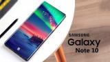 Samsung Galaxy Note 10 lộ diện: Thiết kế mới lạ, Camera dọc tinh tế
