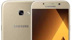 Galaxy A5 2017 được cập nhật  hệ điều hành phiên bản mới