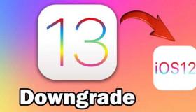 Hướng dẫn hạ cấp phiên bản iOS 13 sang iOS 12, không bị mất dữ liệu