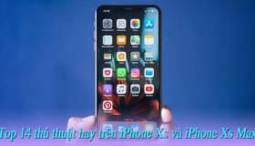 Top 14 cử chỉ gọn gàng trên iPhone XS và iPhone XS Max