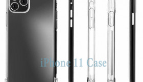 Ốp lung phác họa hình dáng của iPhone 11