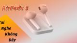 AirPods 3 khử tiếng ồn vượt trội, đo nhịp tim thông minh chạy iOS 13.2 đầu tiên