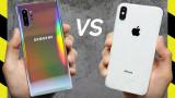 So sánh màn hình iPhone XS Max và Note 10 Plus