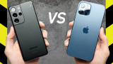 """Samsung Galaxy S21 Ultra và iPhone 12 Pro Max: Điện thoại nào """"trâu"""" hơn?"""