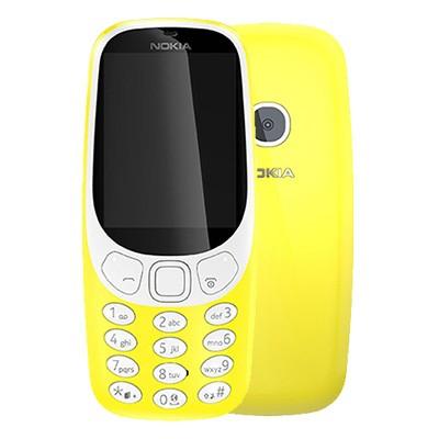 Nokia 3310 2 sim 2017 chinh hang mau vang