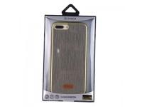 Ốp Lưng iPhone 7 Plus KAKU Giả Vải Bố