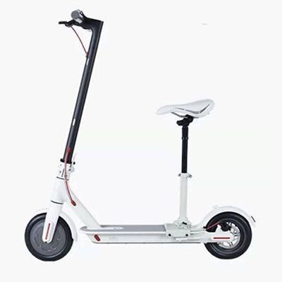 xe dien mini xiaomi electric scooter trang