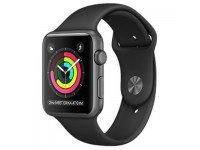 Apple watch Series 1 – 42mm - mặt nhôm màu đen, dây cao su - 99%