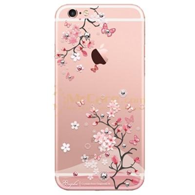 Op lung iPhone 6 Plus Apbs trang tri hoa tiet dinh da nhua cung