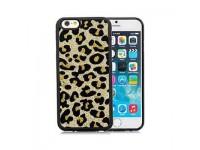 Ốp lưng iPhone 6 Plus TOTU TPU Leopard Soft-cham series
