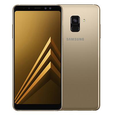 samsung galaxy a8 plus 2018 mau vang gold