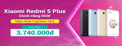 Xiaomi Redmi 5 Plus Hàng Công Ty