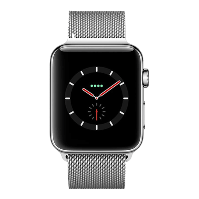 apple watch series 4 lte - mat thep - day thep milanes - 40mm - cu