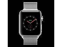 Apple Watch Series 4 LTE - mặt thép - dây thép Milanes - 40mm - Cũ