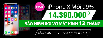 iPhone X 64GB cũ