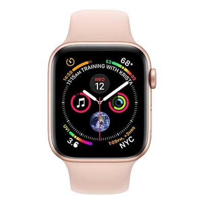 apple watch series 4 gps - mặt nhôm, dây cao su