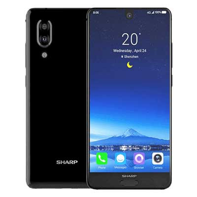 Sharp Aquos S2 màu den Black