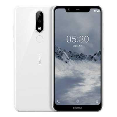nokia x5 (nokia 5.1 plus) mau trang white