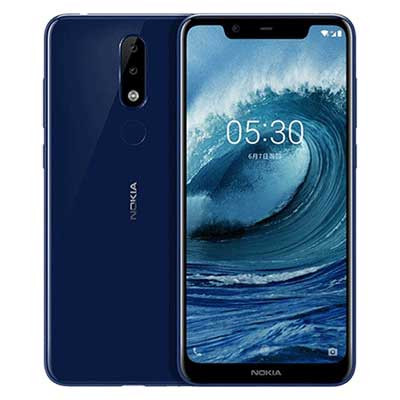 nokia x5 (nokia 5.1 plus) mau xanh blue