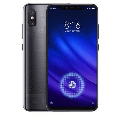 Xiaomi Mi 8 trong suot transparent black