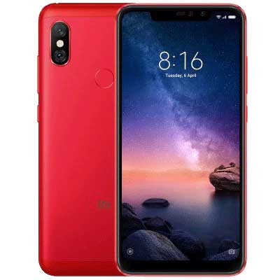 xiaomi redmi note 6 pro mau do red