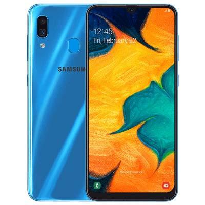 samsung galaxy a30 mau xanh blue