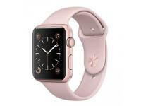 Apple watch Series 1 – 42mm - mặt nhôm màu hồng, dây cao su - 99%