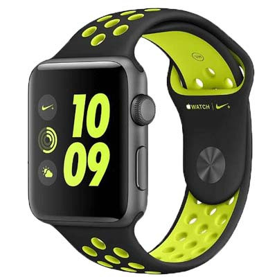 apple watch series 3 lte - mat nhom, day nike mau vang gold
