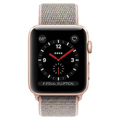 apple watch series 3 lte - mat nhom, day sport lop