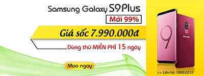 Samsung Galaxy S9 Plus Cũ hàng Hàn Quốc