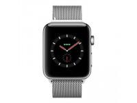 Apple Watch Series 4 LTE - mặt thép, dây thép Milanese