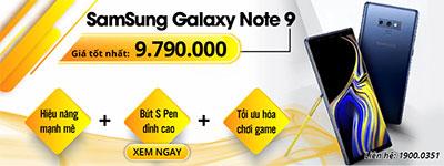 Samsung Galaxy Note 9 hàng Hàn Quốc Cũ