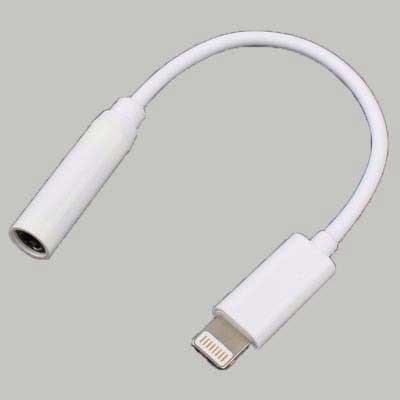 day cap sac adapter tu lightning sang cong tai nghe iphone 7 iphone 7 plus