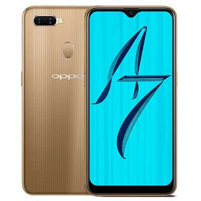 oppo a7 hang cong ty mau vang gold