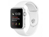 Apple Watch Series 1 – 42mm - mặt nhôm màu trắng, dây cao su - 99%