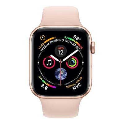 apple watch series 4 lte - mặt nhôm, dây cao su