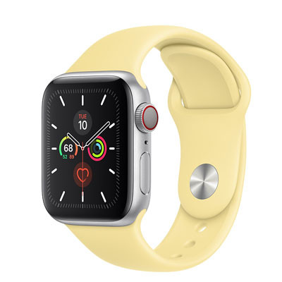 apple watch series 5 - 40mm - gps mau vang
