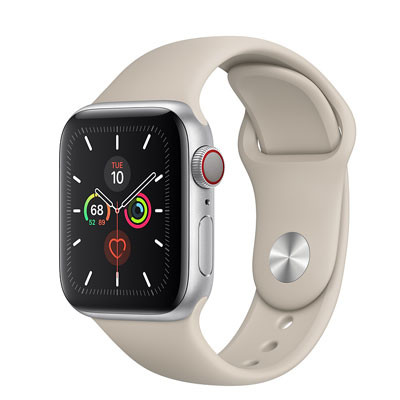 apple watch series 5 - 40mm - gps mau bac