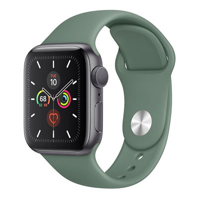 apple watch series 5 - 40mm - gps mau xanh reu