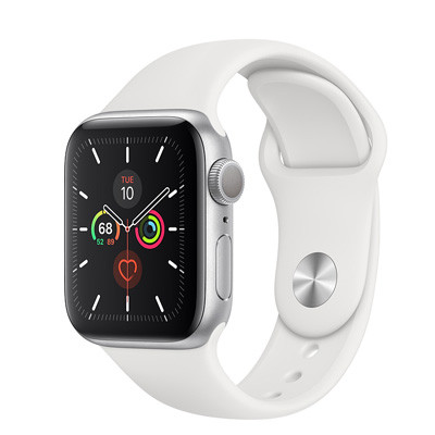 apple watch series 5 - 40mm - gps mau trang