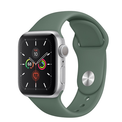 apple watch series 5 - 44mm - gps mau xanh reu