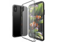 Ốp lưng iPhone X OUcase Unique Skid nhựa dẻo trong suốt