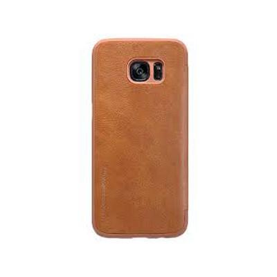Ốp lưng Galaxy S7 Edge Nillkin Qin Leather Case