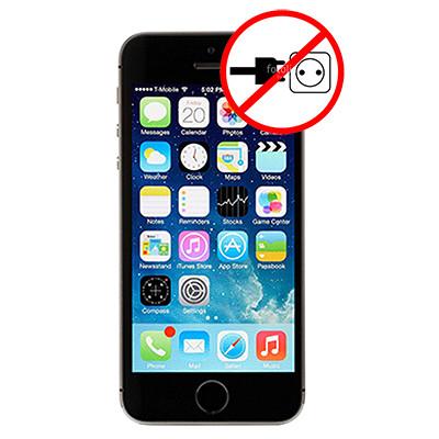 Sửa lỗi iPhone 5s không nhận sạc