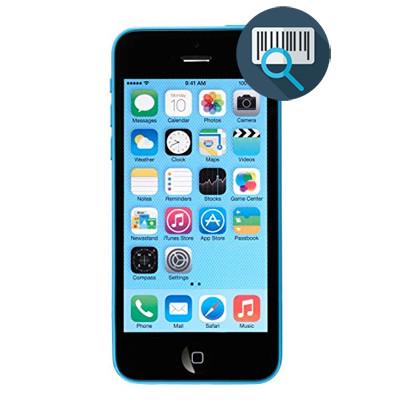 Check imei iPhone 5C full thông tin