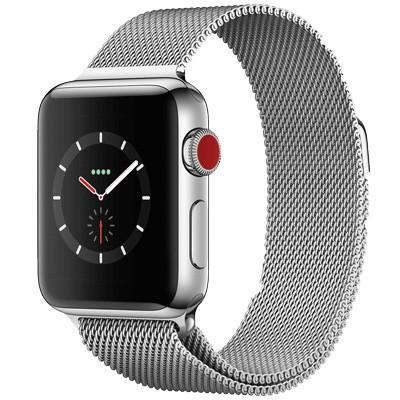 apple watch series 3 lte mat thep day thep mau trang white