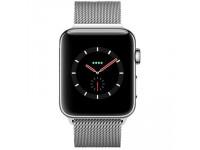 Apple Watch Series 3 LTE - mặt thép, dây thép